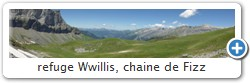 refuge Willis, chaine de Fizz